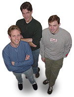 John, Erik and Andy - The Stupid Guys